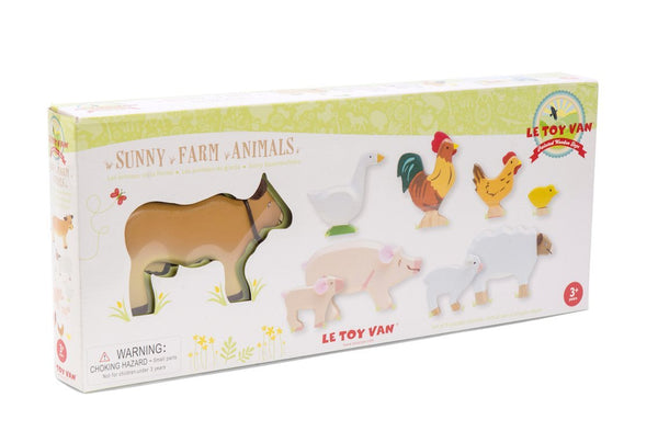Le Toy Van Sunny Farm Animals - Scandibørn