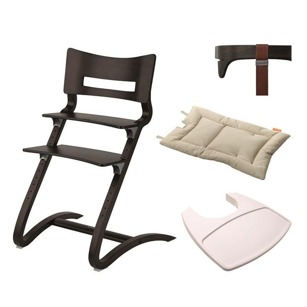 Leander High Chair Bundle in Walnut - Scandibørn