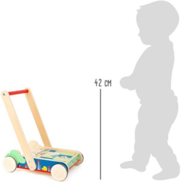 "Legler Building Blocks Baby Walker ""Move It"" - Scandibørn"