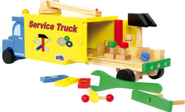 Legler Construction Vehicle Wooden Toy - Scandibørn