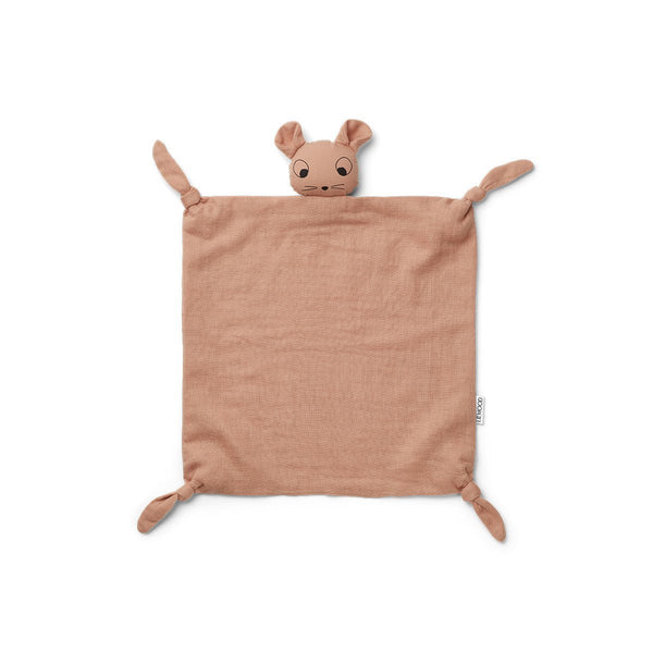 Liewood Agnete Cuddle Comforter - Mouse Pale Tuscany - Scandibørn