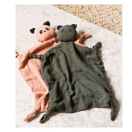 Liewood Agnete Cuddle Comforter - Panda Hunter Green - Scandibørn