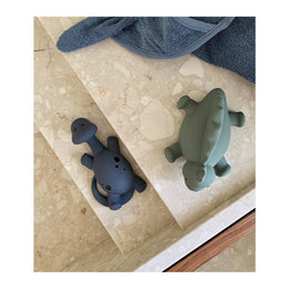 Liewood Algi Bath Toys Dino 2 Pack - Blue mix - Scandibørn