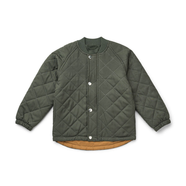 Liewood Bea Thermo Jacket in Hunter Green (4-10Y) - Scandibørn