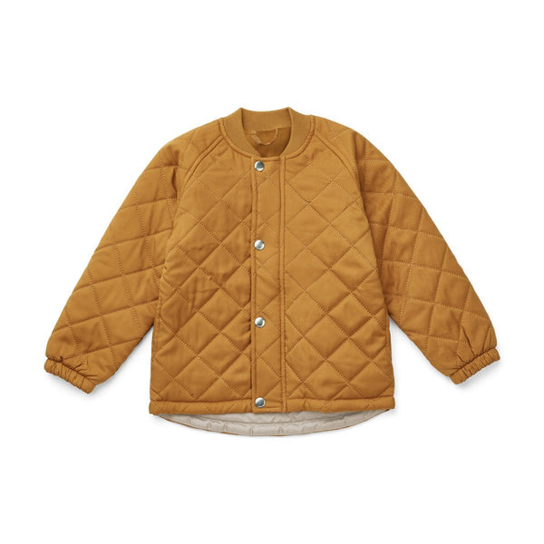 Liewood Bea Thermo Jacket in Mustard (4-10Y) - Scandibørn