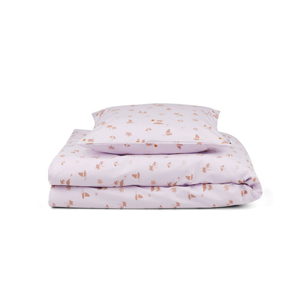 Liewood Bed Linen - Seaside Light Lavender - Scandibørn