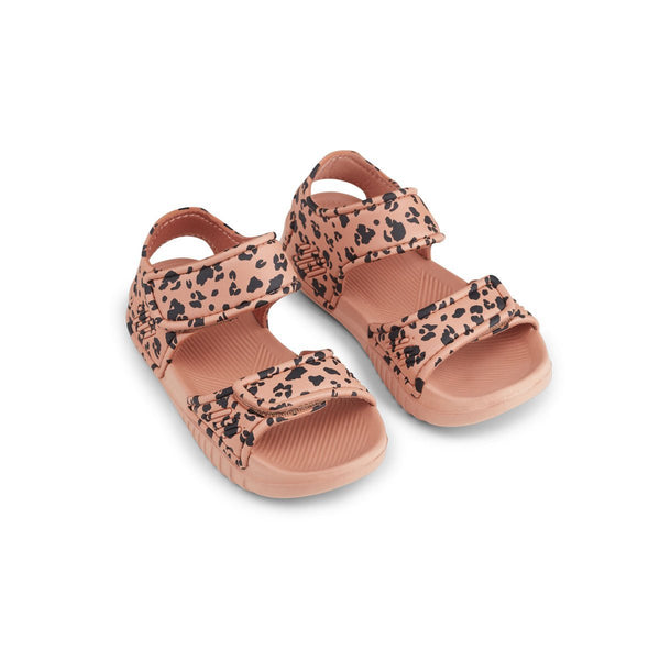 Liewood Blumer Sandals Mini Leo Tuscany Rose - Scandibørn
