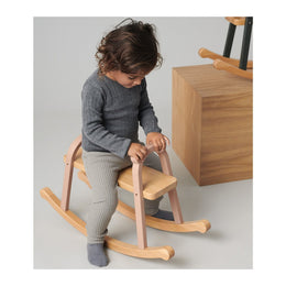 Liewood Lina Rocking Horse in Dark Rose - Scandibørn