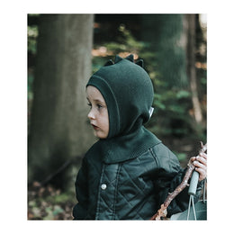 Liewood Mads Knitted Beanie - Dino Hunter Green - Scandibørn