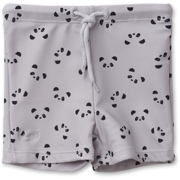 Liewood Otto Swim Pants in Panda Dumbo Grey - Scandibørn