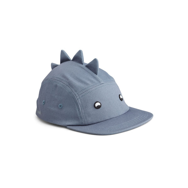 Liewood Rory Hat in Dino Blue Wave - Scandibørn