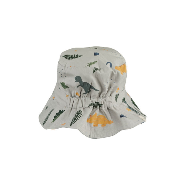 Liewood Sander Bucket Hat in Dino Dove Blue Mix - Scandibørn