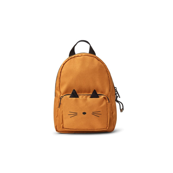 Liewood Saxo Mini Backpack in Cat Mustard - Scandibørn