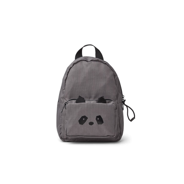 Liewood Saxo Mini Backpack in Panda Stone Grey - Scandibørn