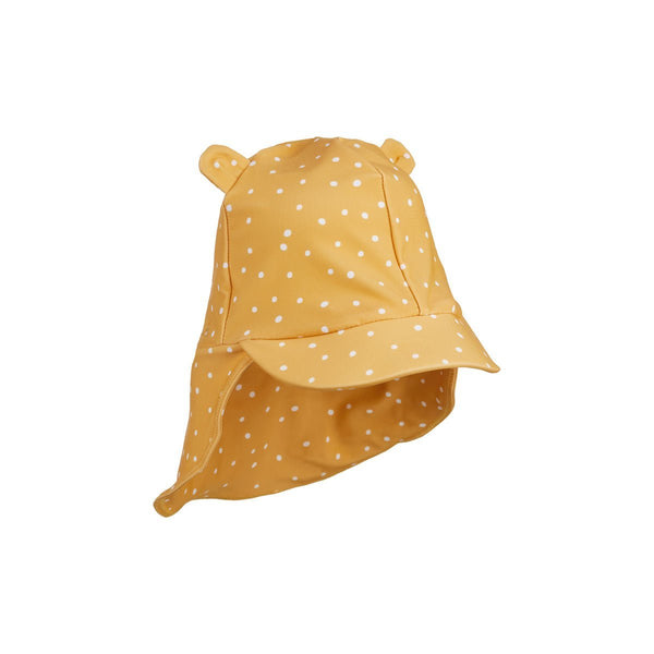 Liewood Senia Sun Hat in Confetti Yellow Mellow Mix - Scandibørn