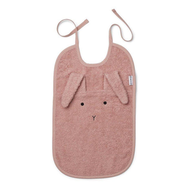 Liewood Theo Bib - Rabbit Rose - Scandibørn