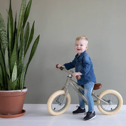 Little Dutch Balance Bike Olive - Scandibørn