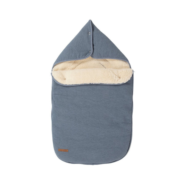 Little Dutch Car Seat Footmuff in Pure Blue - Scandibørn