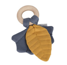 Little Dutch Crinkle toy leaves Pure & Nature blue - Scandibørn