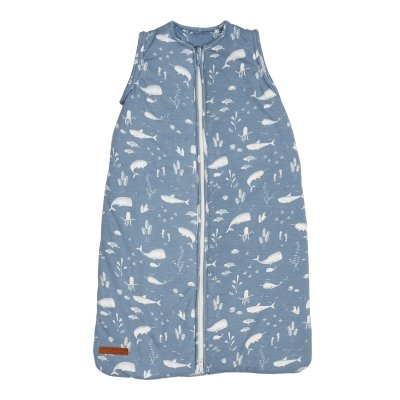 Little Dutch Summer Sleeping Bag 0.4 tog in Ocean Blue - Scandibørn