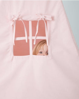 Little Dutch Teepee Pink (Incl. Bunting & Playmat) - Scandibørn