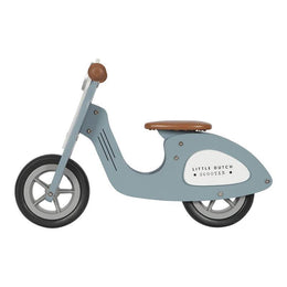 Little Dutch Wooden Scooter Blue - Scandibørn