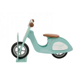 Little Dutch Wooden Scooter Stand in Mint - Scandibørn