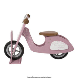 Little Dutch Wooden Scooter Stand in Pink - Scandibørn
