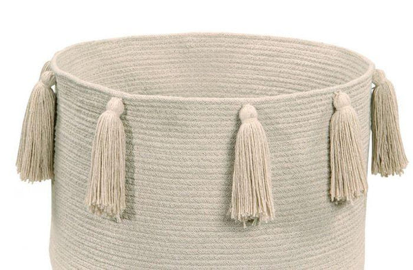 Lorena Canals Basket Tassels Natural - Scandibørn