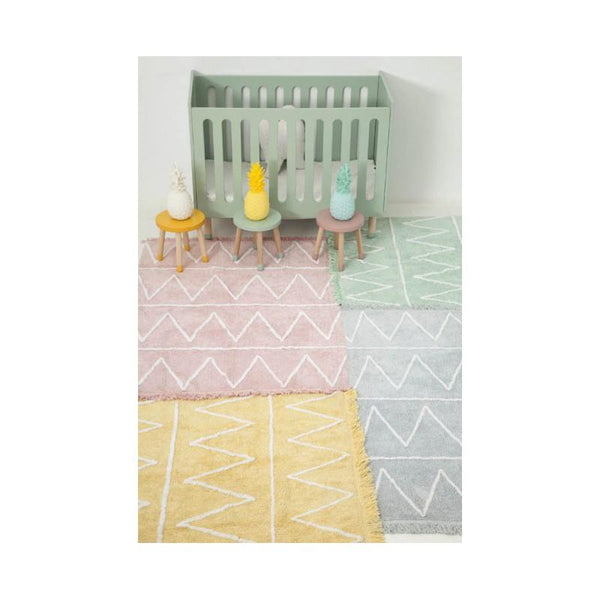 Lorena Canals Hippy Washable Rug in Mint - Scandibørn