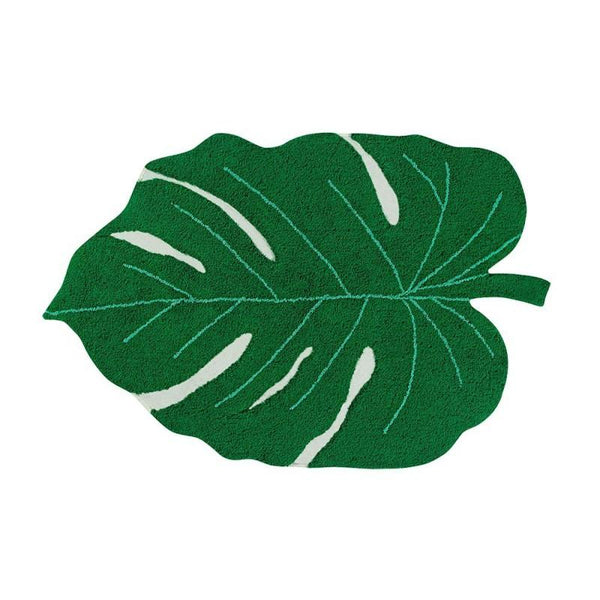 Lorena Canals Washable Rug Monstera Leaf - Scandibørn