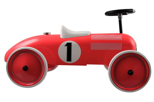 Magni Ride-On Car in Red - Scandibørn