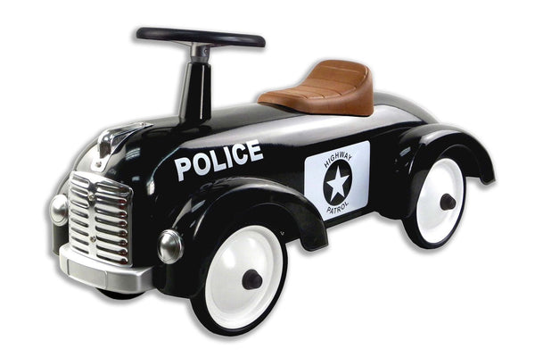 Magni Ride-On Police Car - Scandibørn
