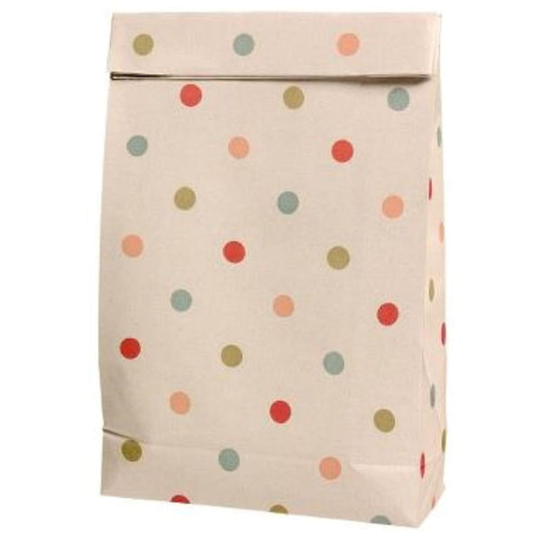 Maileg Paper Gift Bag in Multi Dots - Scandibørn