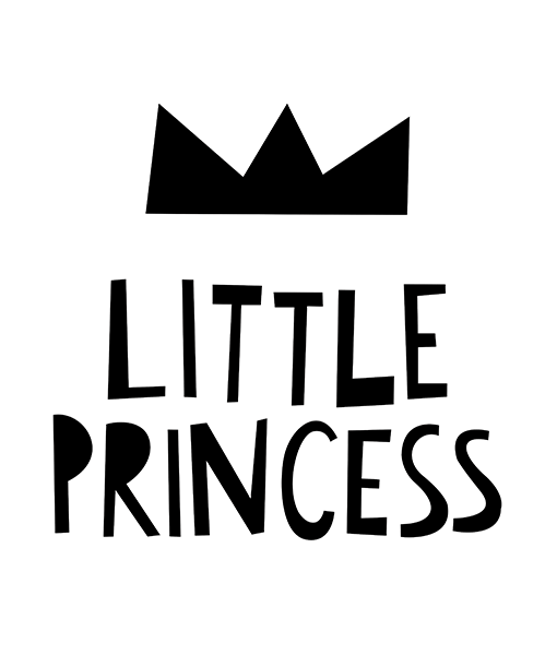 Mini Learners 'Little Princess' poster - Scandibørn