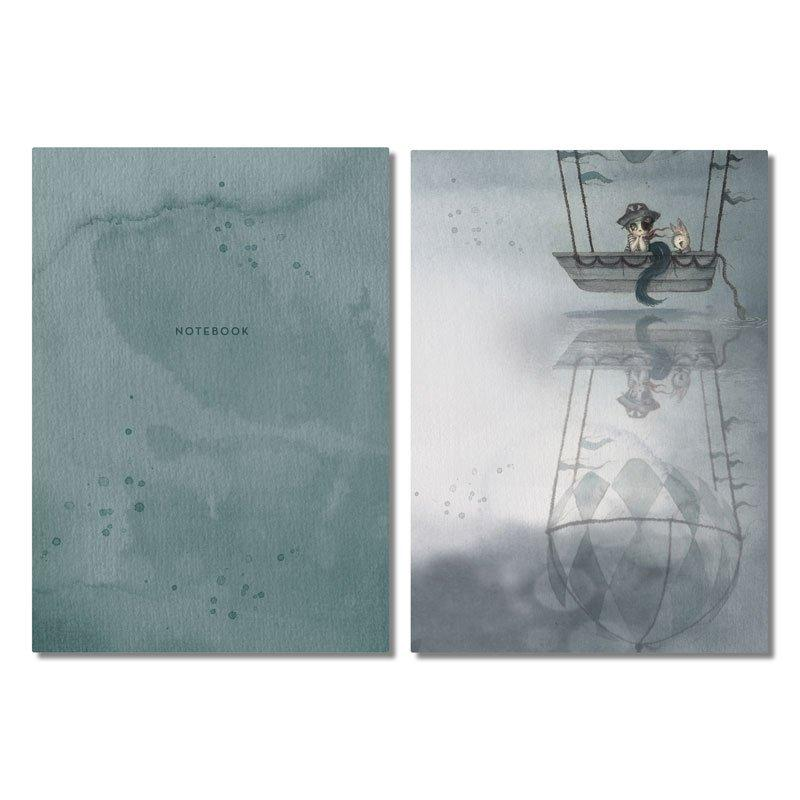 Mrs Mighetto Lake Stories Notebooks (2-pack)