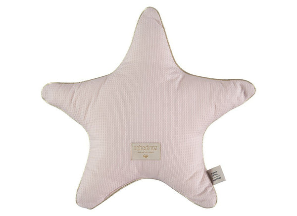 Nobodinoz Aristote Star Cushion in Dream Pink - Scandibørn
