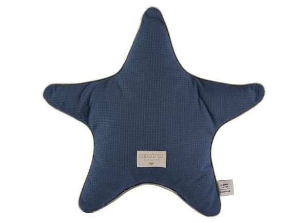 Nobodinoz Aristote Star Cushion in Night Blue - Scandibørn