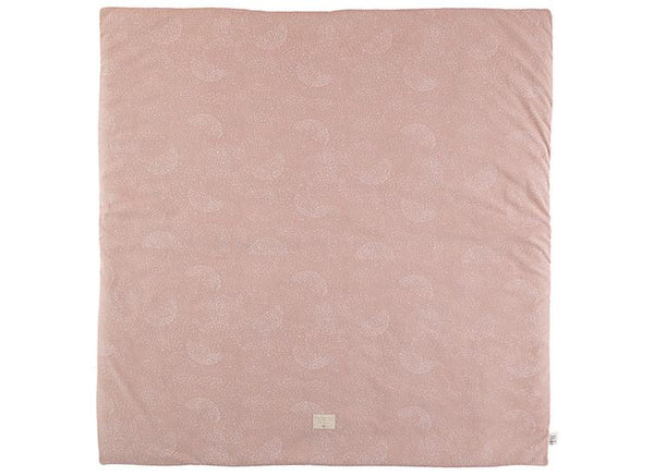 Nobodinoz Colorado Play mat in White Bubble / Misty pink - Scandibørn
