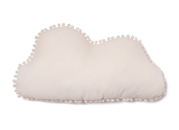 Nobodinoz Marshmallow Cloud Cushion in Natural - Scandibørn