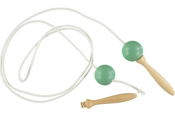 Nobodinoz Skipping Rope in Tropical Green - Scandibørn