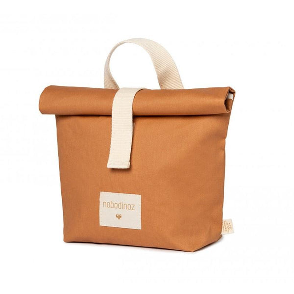 Nobodinoz Sunshine Eco Lunch Bag in Cinnamon - Scandibørn