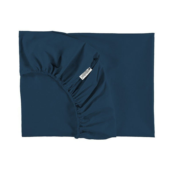 Nobodinoz Tibet Fitted Sheet in Night Blue (2 Sizes) - Scandibørn