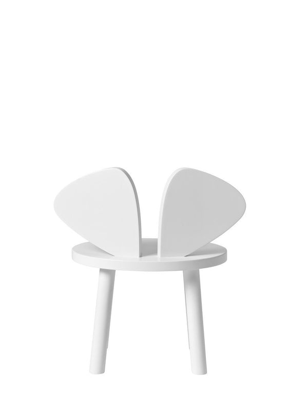 Nofred Mouse chair in white (2-5 years) - Scandibørn
