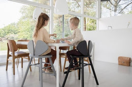Nofred Mouse high chair in black (3-9 years) - Scandibørn