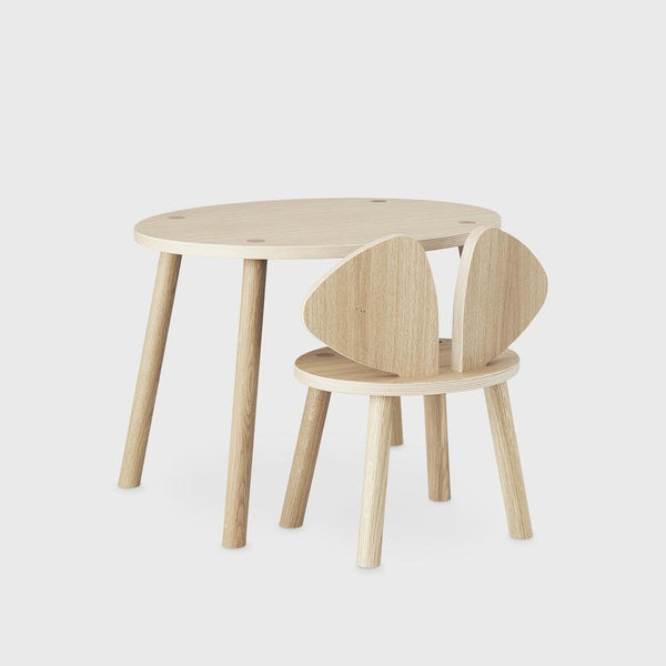 Nofred Mouse table in oak (2-5 years) - Scandibørn