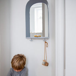 Nofred - Portal Mirror in Grey - Scandibørn