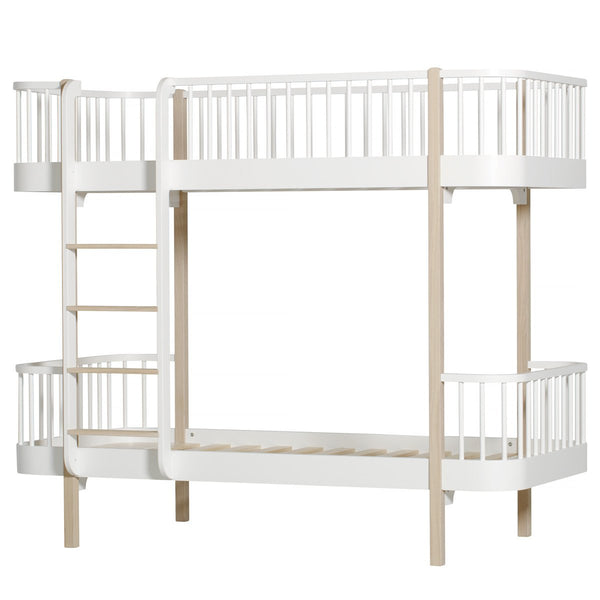 Oliver Furniture - Wood Bunk Bed in Oak - Scandibørn