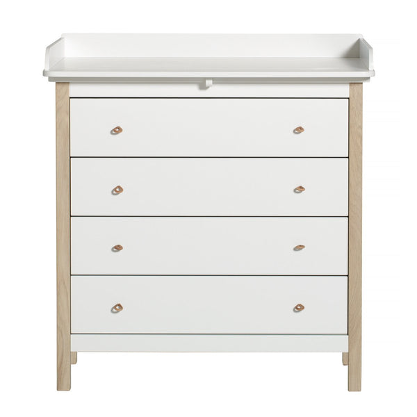 Oliver Furniture - Wood Nursery Dresser - Scandibørn