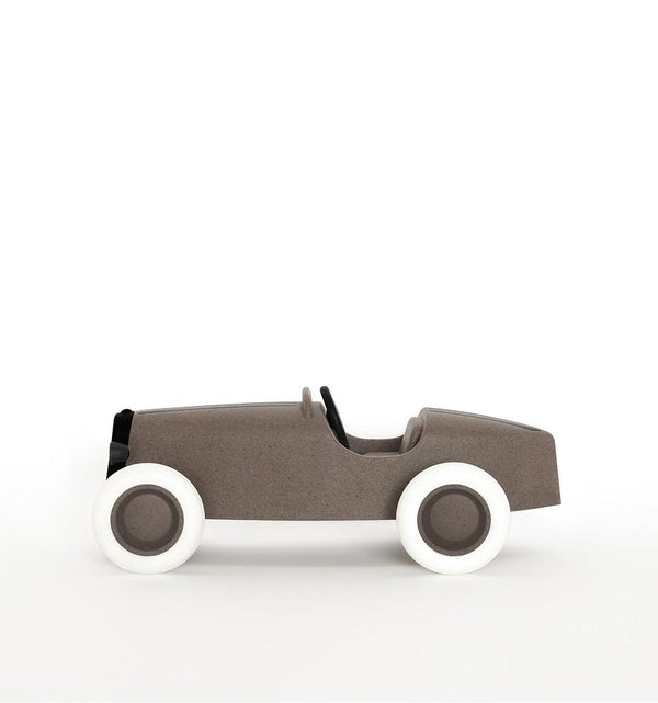 Ooh Noo Grand Prix Racing Car in Taupe - Scandibørn